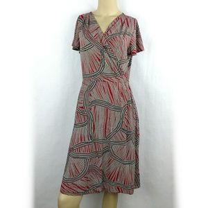 212 Collection faux wrapdress,size Small